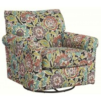 Harrietson - Swivel Glider Accent Chair