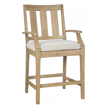 Clare View - Barstool with Cushion (2/CN)