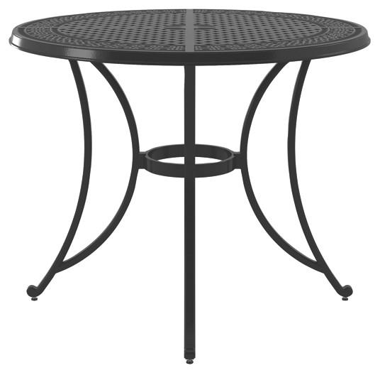 Burnella - Round Bar Table