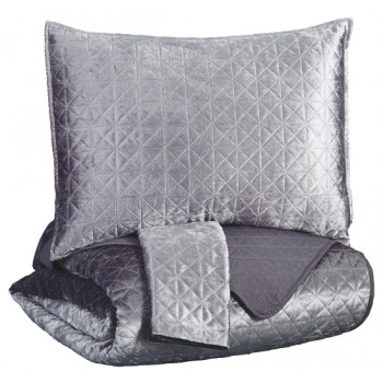 Maryam - Maryam 3-Piece Queen Coverlet Set