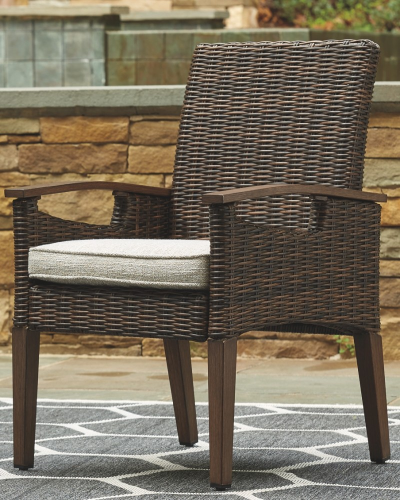 Paradise Trail - Arm Chair With Cushion (2/CN)