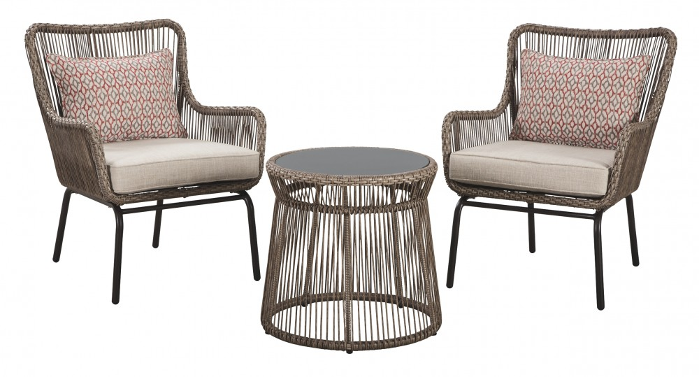 Cotton Road - Chairs w/CUSH/Table Set (3/CN)