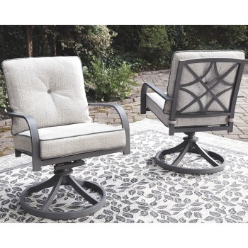 Donnalee Bay - Swivel Lounge Chair (2/CN)