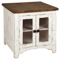 Wystfield - Rectangular End Table