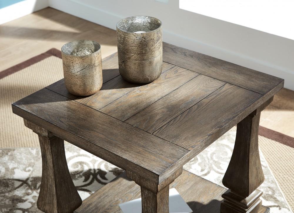 Johnelle - Rectangular End Table