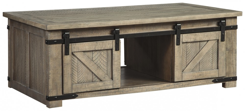 Aldwin - Rect Storage Cocktail Table
