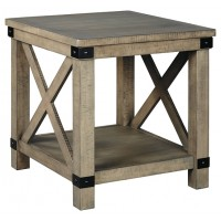 Aldwin - Rectangular End Table