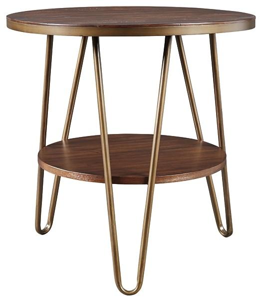 Lettori - Round End Table