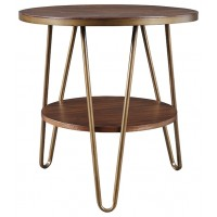 Lettori - Round End Table