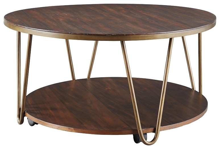 Lettori - Round Cocktail Table