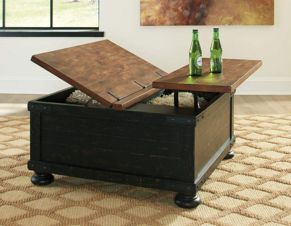 Valebeck Square Lift Top Cocktail Table T468 00 Accent