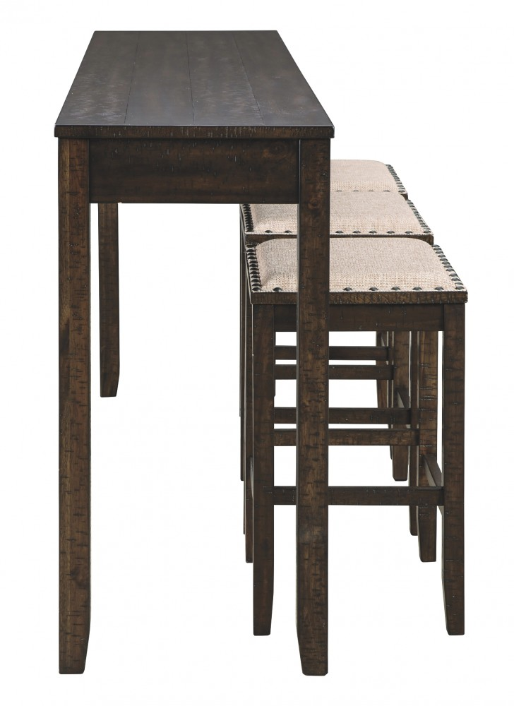 Rokane Rokane Counter Height Dining Room Table And Bar Stools Set Of 4 D397 223 Dining