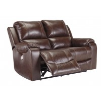 Rackingburg - Reclining Power Loveseat