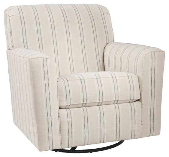 Alandari - Swivel Glider Accent Chair