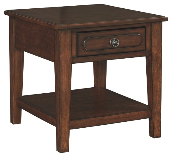 Adinton - Rectangular End Table