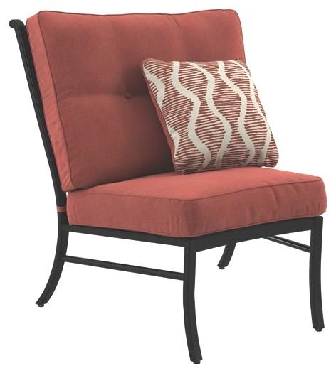 Burnella - Armless Chair w/Cushion (1/CN)