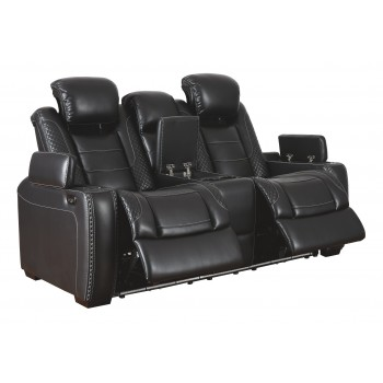 Party Time - PWR REC Loveseat/CON/ADJ HDRST