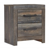 Drystan - Two Drawer Night Stand