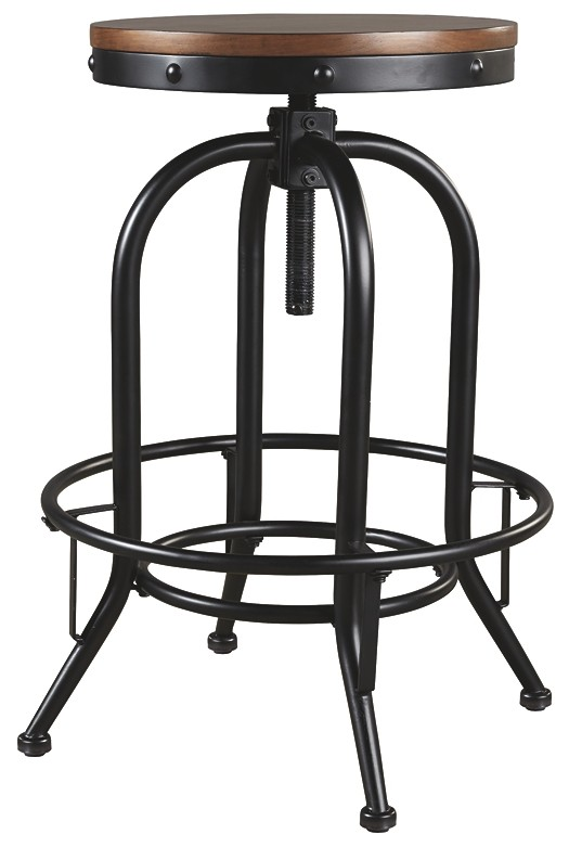 Valebeck - Tall Swivel Barstool (2/CN)