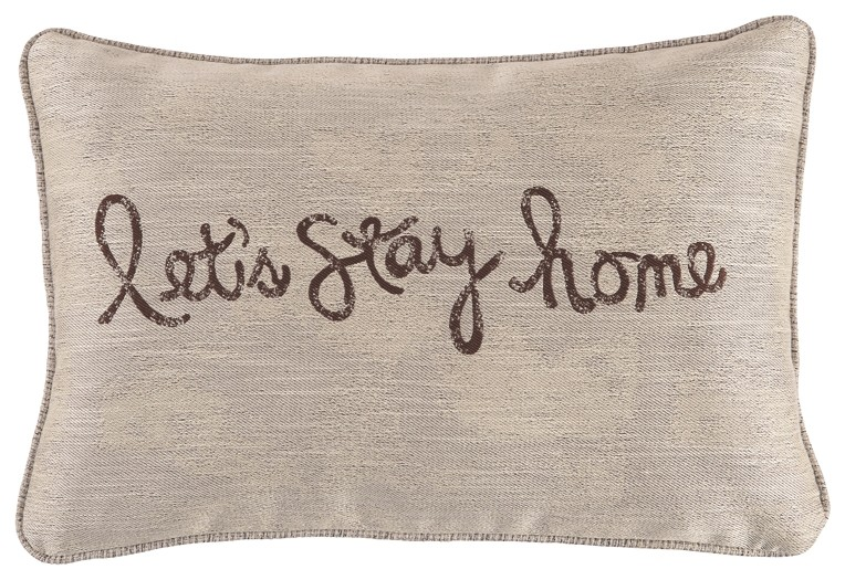 Lets Stay Home - Pillow