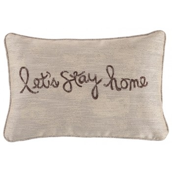 Lets Stay Home - Lets Stay Home Pillow