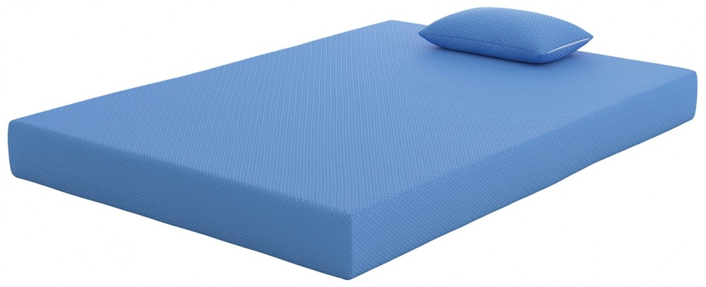 iKidz Blue - iKidz Blue Full Mattress and Pillow