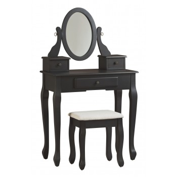 Huey Vineyard - Vanity/Mirror/Stool (3/CN)
