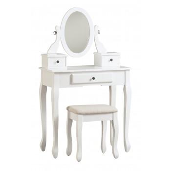 Kaslyn - Kaslyn Vanity and Mirror with Stool