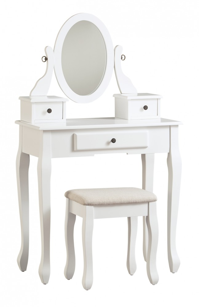 Kaslyn - Vanity/Mirror/Stool (3/CN)