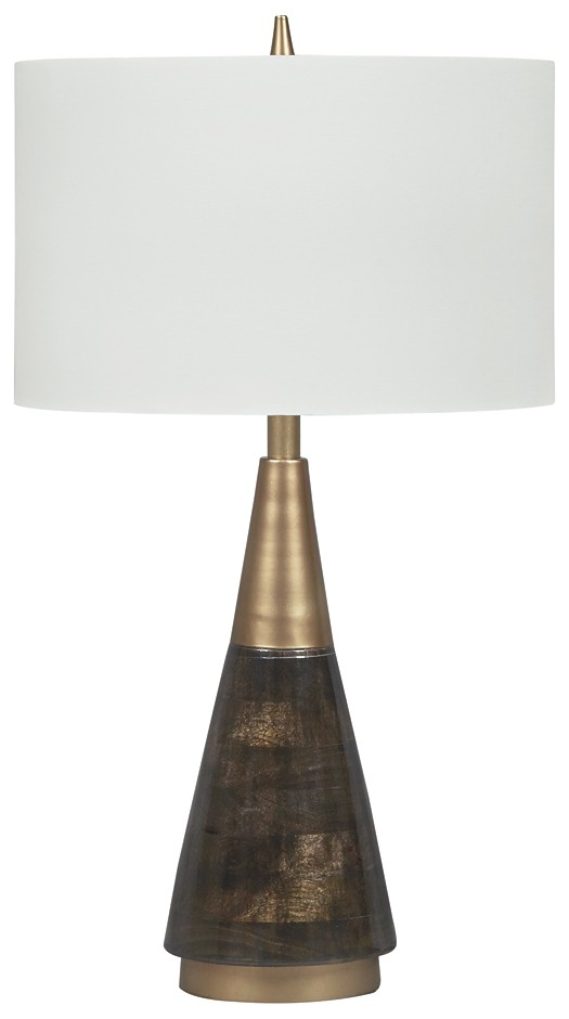 Lyrah - Wood Table Lamp (1/CN)