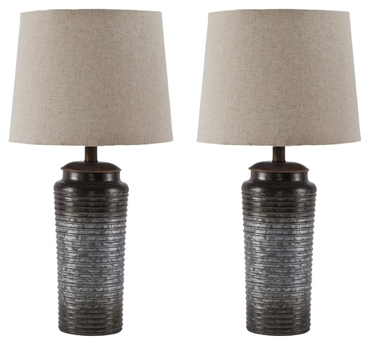 Norbert - Metal Table Lamp (2/CN)