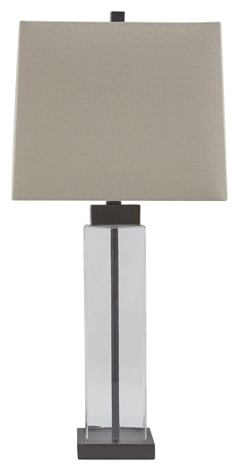 Alvaro - Glass Table Lamp (2/CN)
