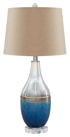 Johanna - Glass Table Lamp (2/CN)