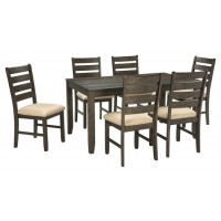 Rokane - Dining Room Table Set (7/CN)