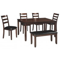 Coviar - Dining Room Table Set (6/CN)