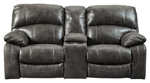 Dunwell - PWR REC Loveseat/CON/ADJ HDRST