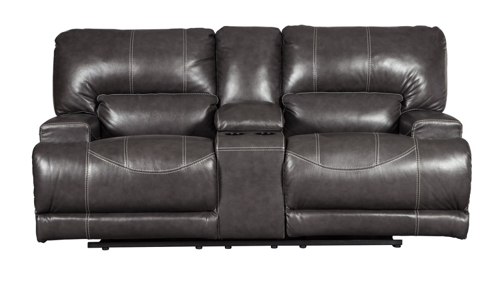McCaskill - McCaskill Power Reclining Loveseat with Console