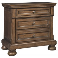 Flynnter - Two Drawer Night Stand