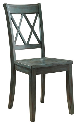 Mestler - Dining Room Side Chair (2/CN)