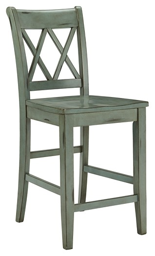 Mestler - Mestler Counter Height Bar Stool