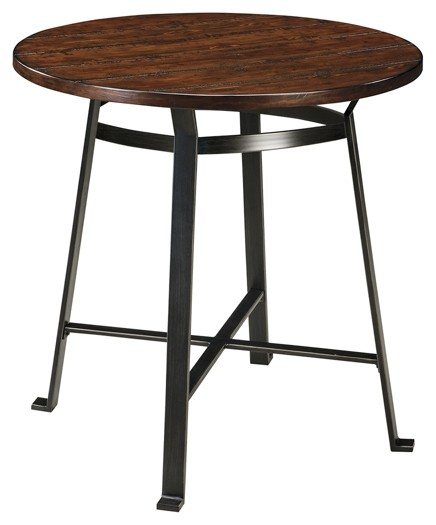 Challiman - Round Dining Room Bar Table