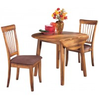 Berringer - Round DRM Drop Leaf Table