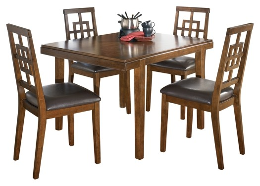 Cimeran - Cimeran Dining Room Table and Chairs (Set of 5)