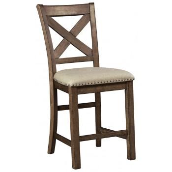 Moriville - Upholstered Barstool (2/CN)