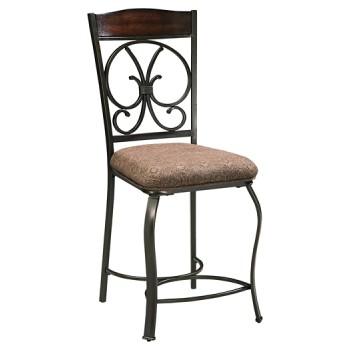 Glambrey - Upholstered Barstool (4/CN)