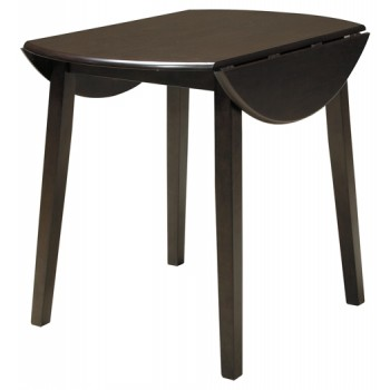 Hammis - Round DRM Drop Leaf Table