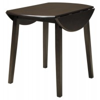 Hammis - Round DRM Drop Leaf Table