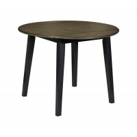 Froshburg - Round DRM Drop Leaf Table