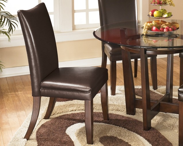 Charrell Dining Uph Side Chair 2 Cn D357 01 Chairs