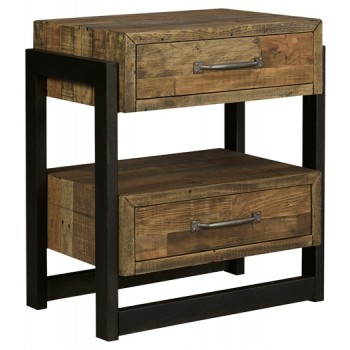 Sommerford - Two Drawer Night Stand